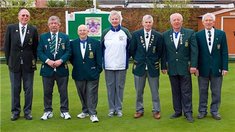 Club Officers and Past Presidents - Opening Day 2019